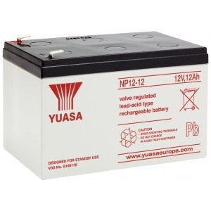 12 Yuasa 12v 12Ah Battery