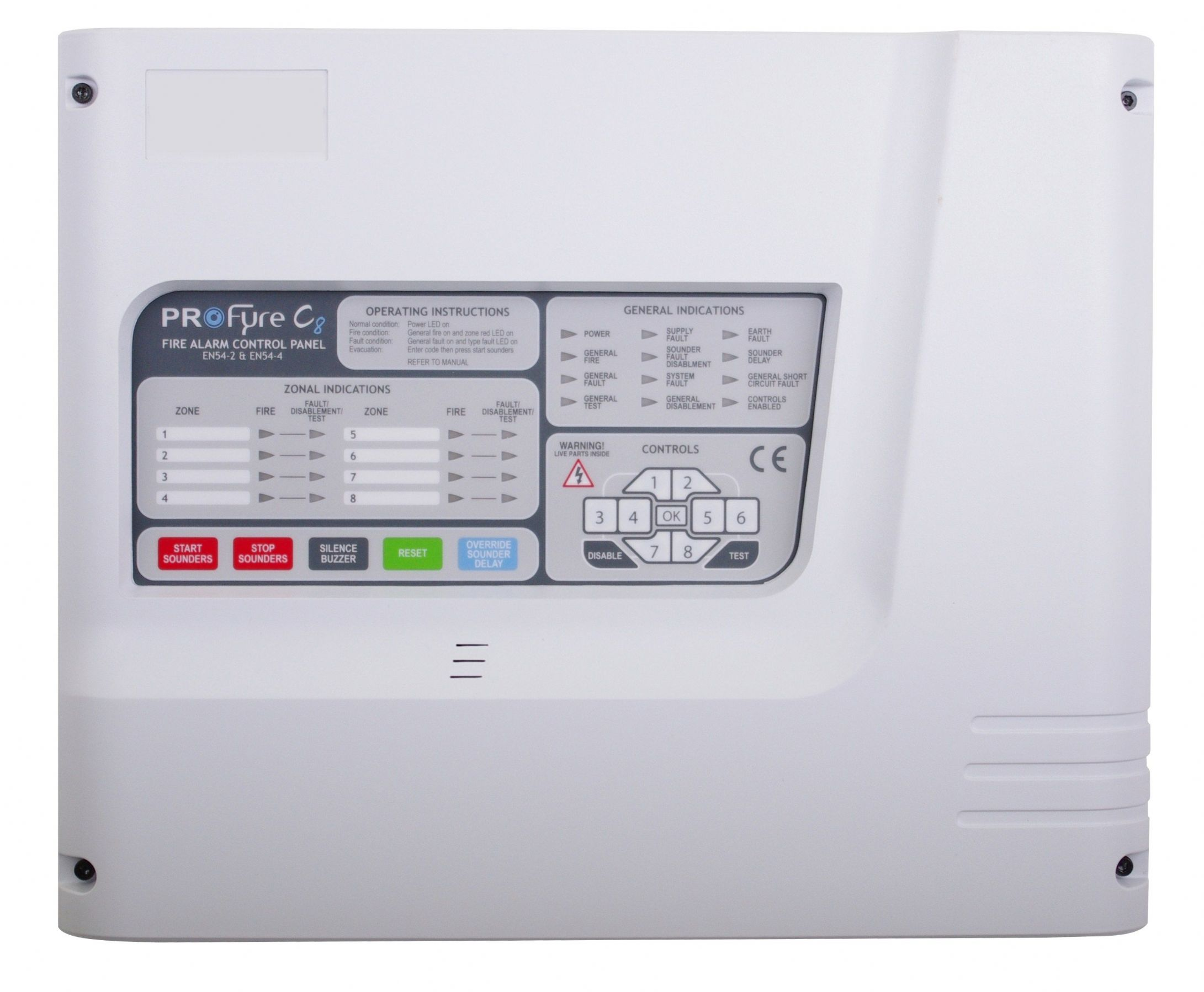 C8 2 profyre c8 2 zone conventional fire alarm panel in1 zeta infinity 1 zone conventional fire alarm panel freerunsca Gallery