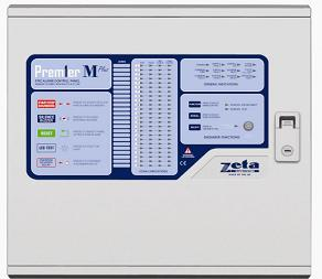 (PMP16) Zeta Premier M Plus Conventional 16 Zone Fire Alarm Control Panel