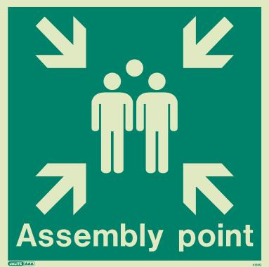 Assembly Area Signs