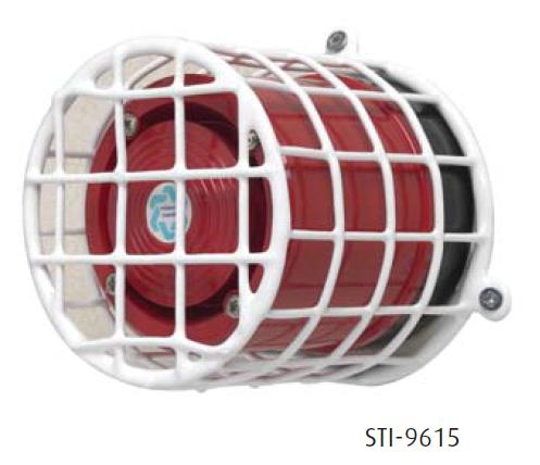 STI Web Stopper Sounder & Beacon Cage
