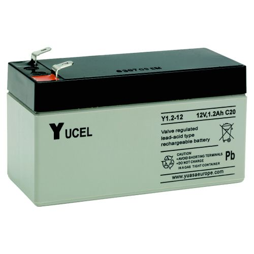 Y1.2-12 Yucel 12v 1.2Ah Battery