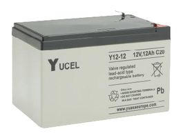 Y12-12 Yucel 12v 12Ah Battery