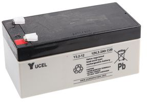 Y3.2-12 Yucel 12v 3.2Ah Battery